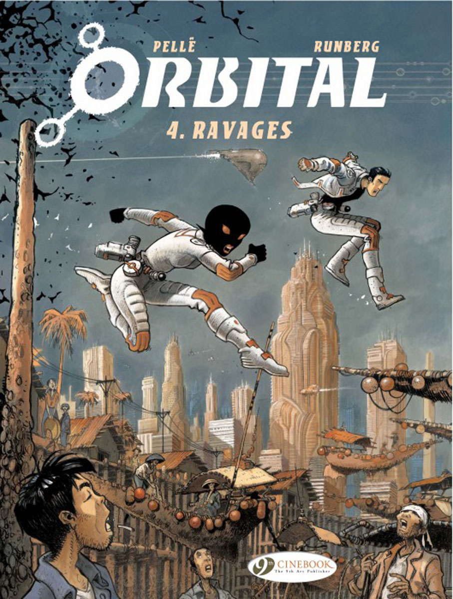 Orbital Vol.4: Ravages crusade vol 3 the master of machines