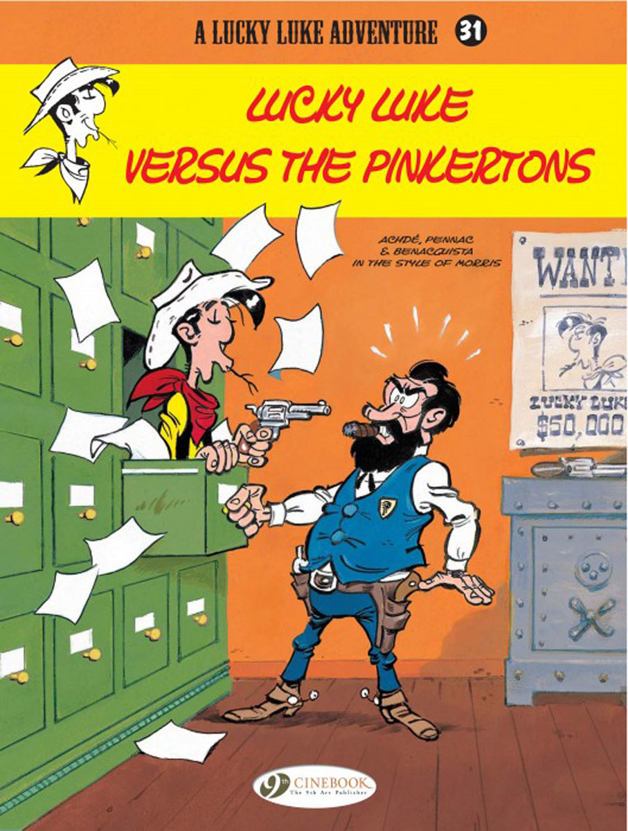Lucky Luke Vol.31: Lucky Luke Versus the Pinkertons lucky luke vol 57