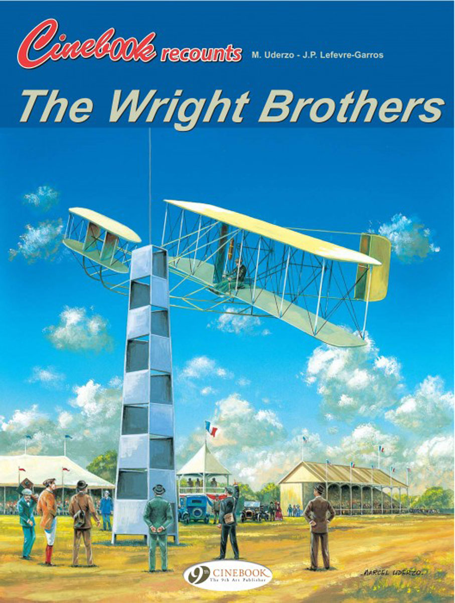 Cinebook Recounts the Wright Brothers the flying beaver brothers and the evil penguin plan
