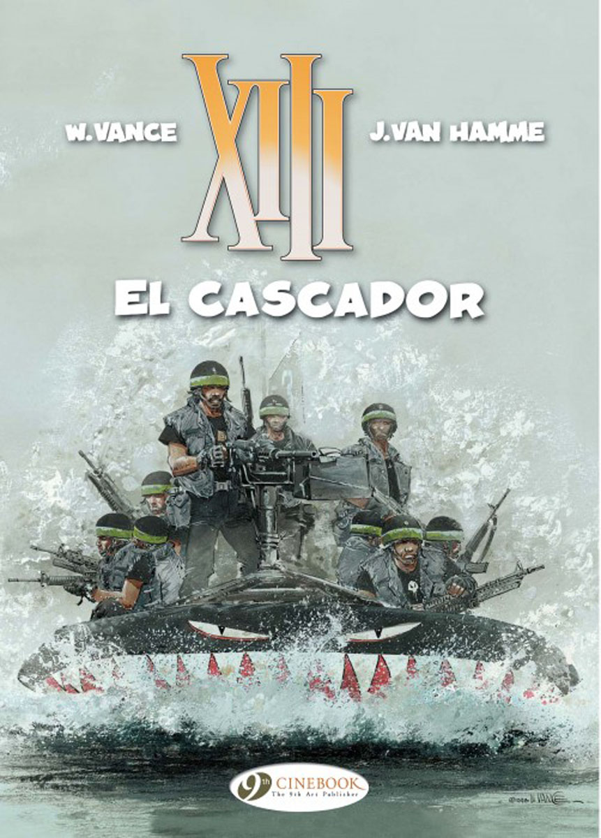 XIII Vol.10: El Cascador jason aaron scalped vol 6 the gnawing