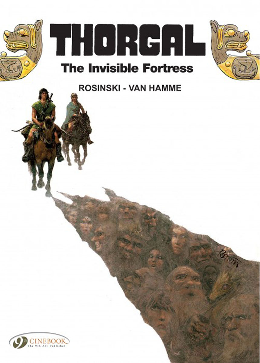 Thorgal Vol.11: The Invisible Fortress thorgal vol 17 the blue plague