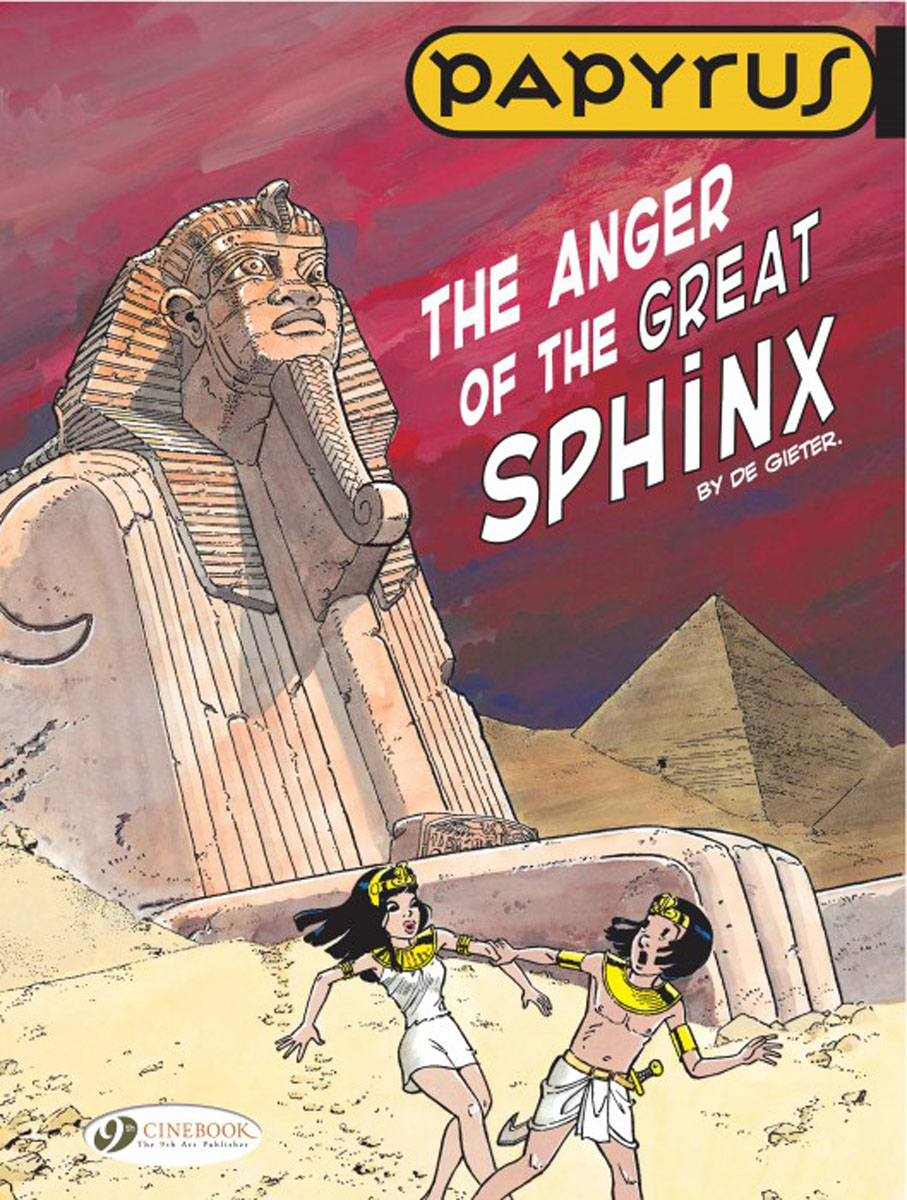 Papyrus Vol.5: The Anger of the Great Sphinx verne j journey to the centre of the earth