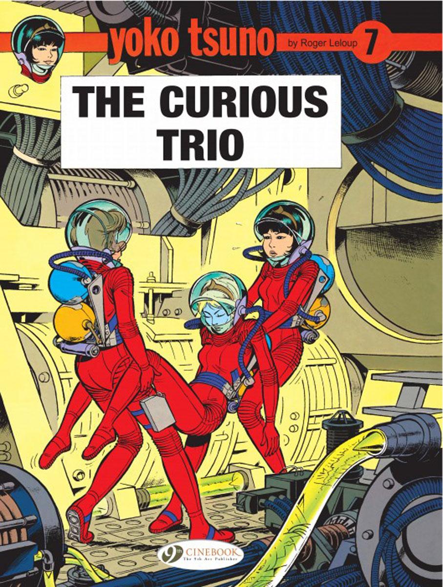 Yoko Tsuno Vol.7: The Curious Trio powers the definitive hardcover collection vol 7