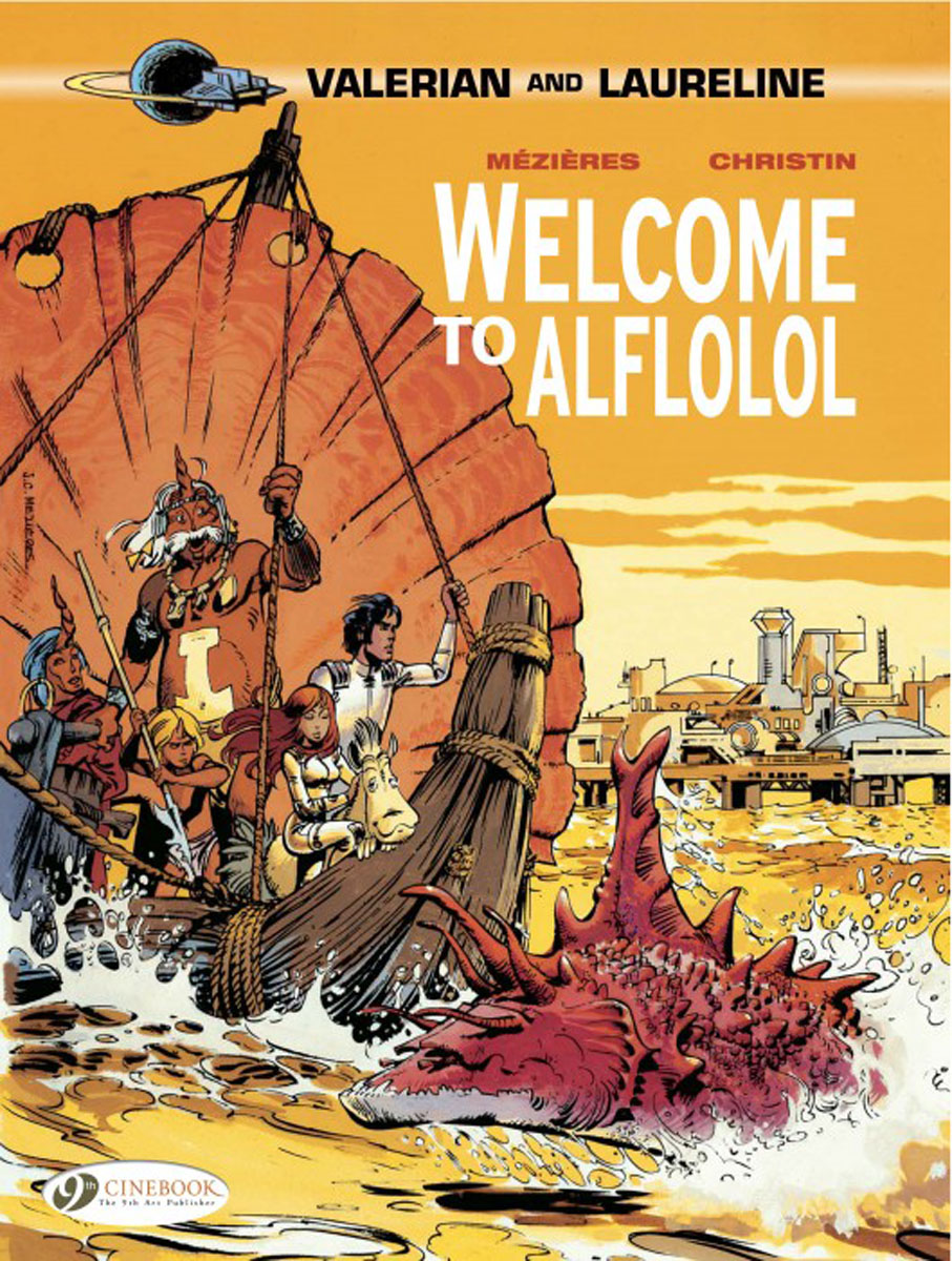 Valerian: Volume 4: Welcome to Alflolol