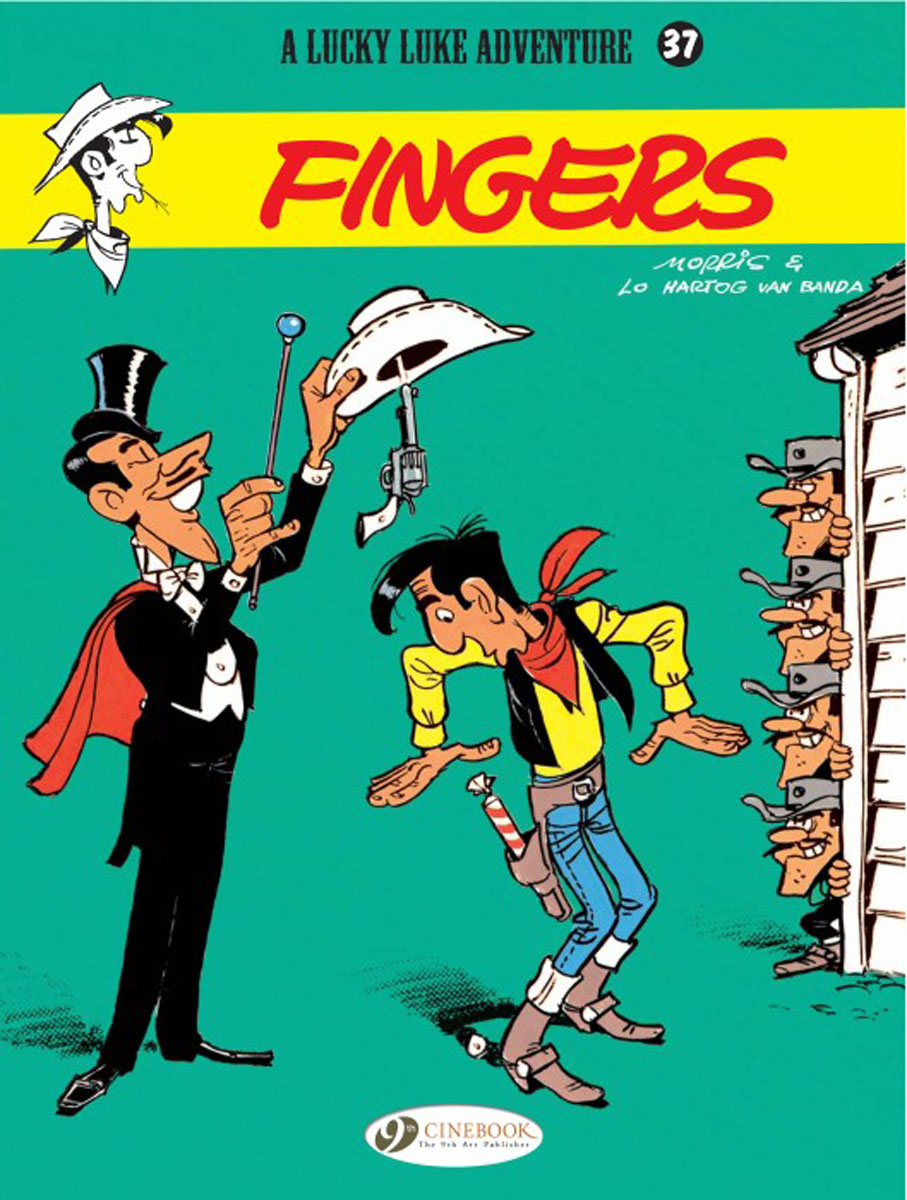 Lucky Luke Vol.37 Fingers lucky luke vol 57