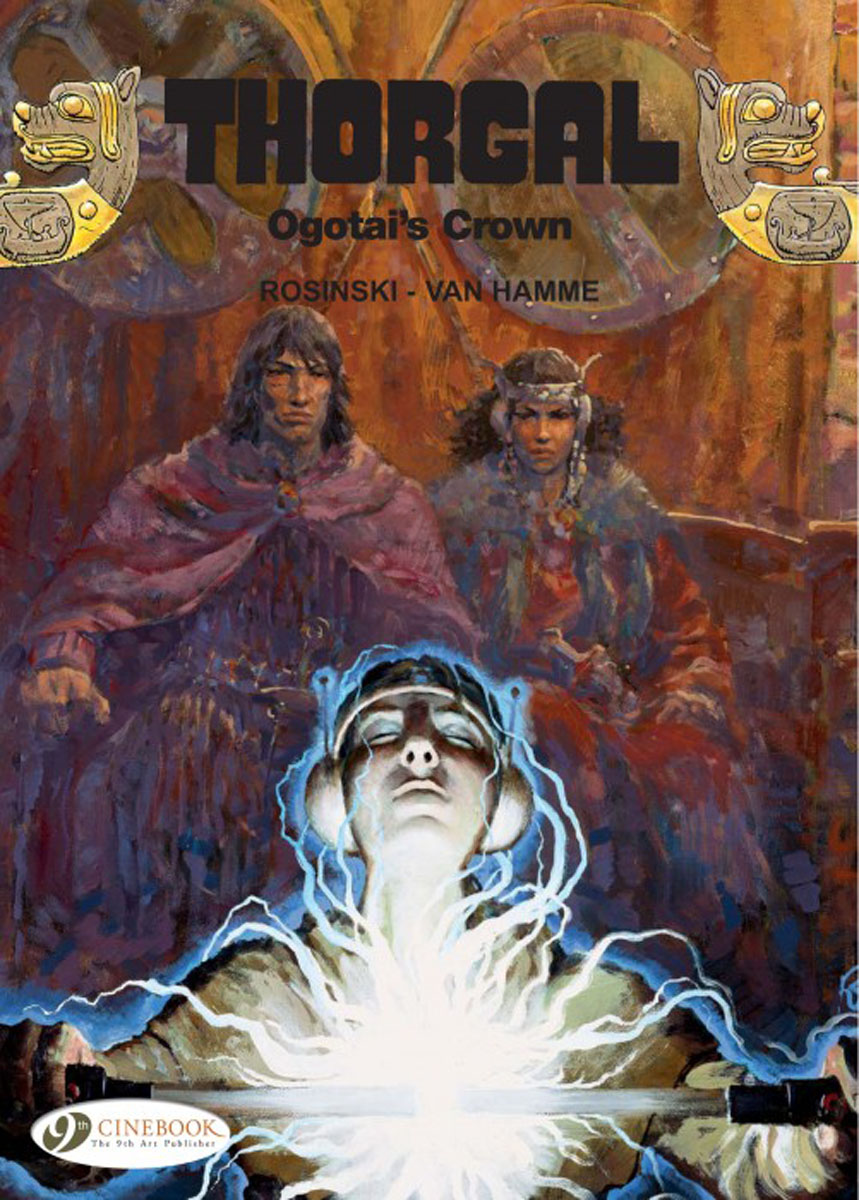 Thorgal Vol. 13: Ogotai's Crown thorgal vol 17 the blue plague