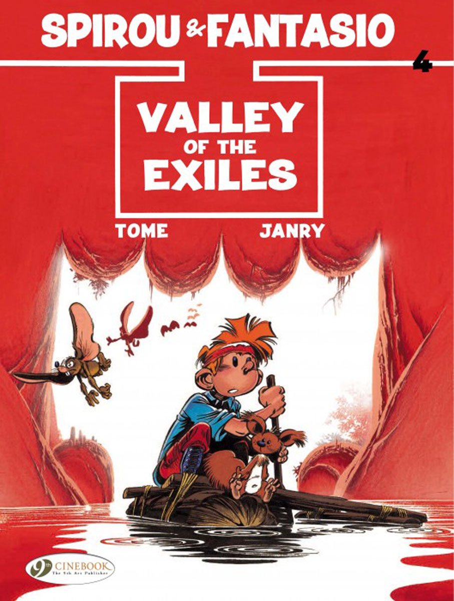 Spirou & Fantasio Vol. 4: Valley of the Exiles lament of the lost moors vol 4 kyle of klanach