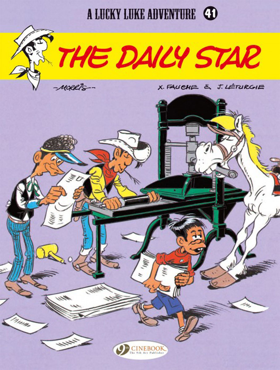 Lucky Luke Vol.41: The Daily Star lucky luke vol 57