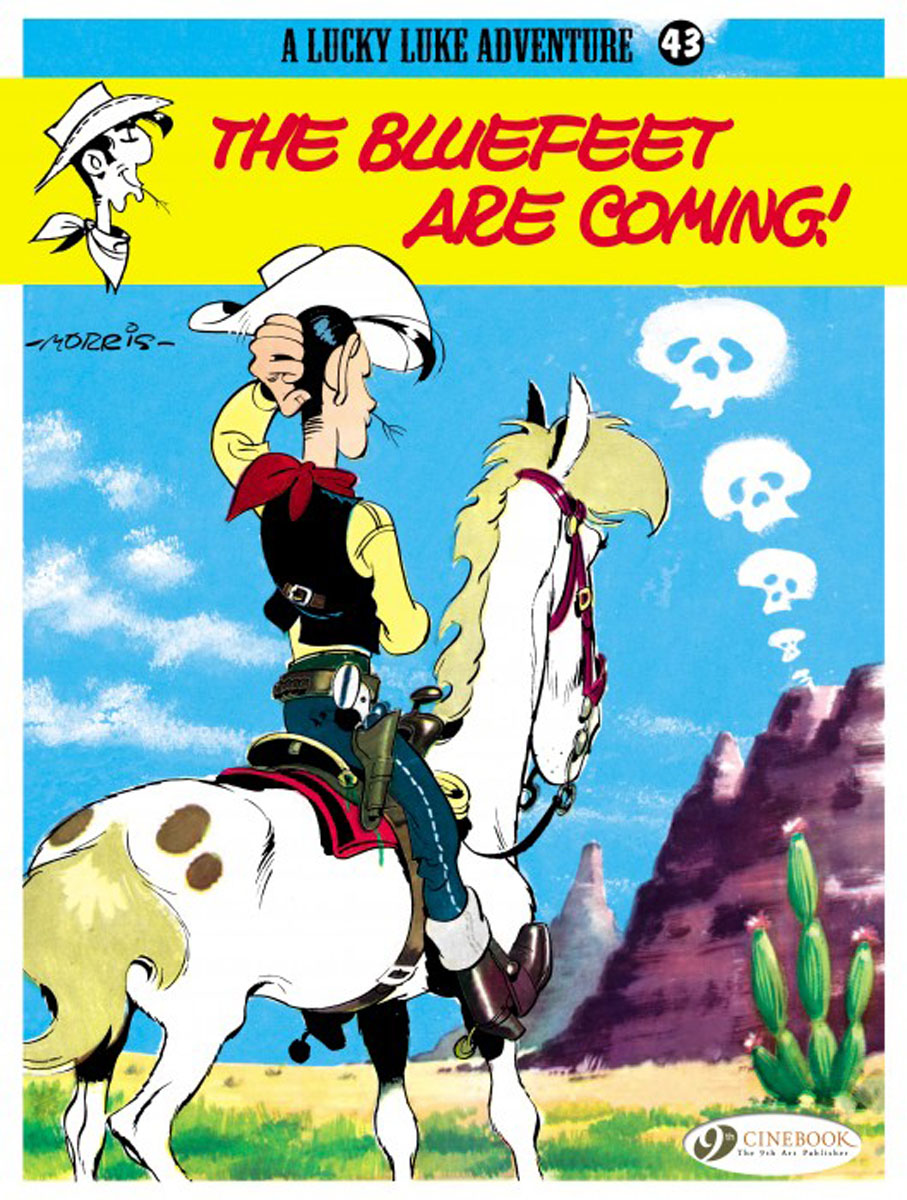Lucky Luke Vol.43 The Bluefeet are Coming! lucky luke vol 12 the rivals of painful gulch