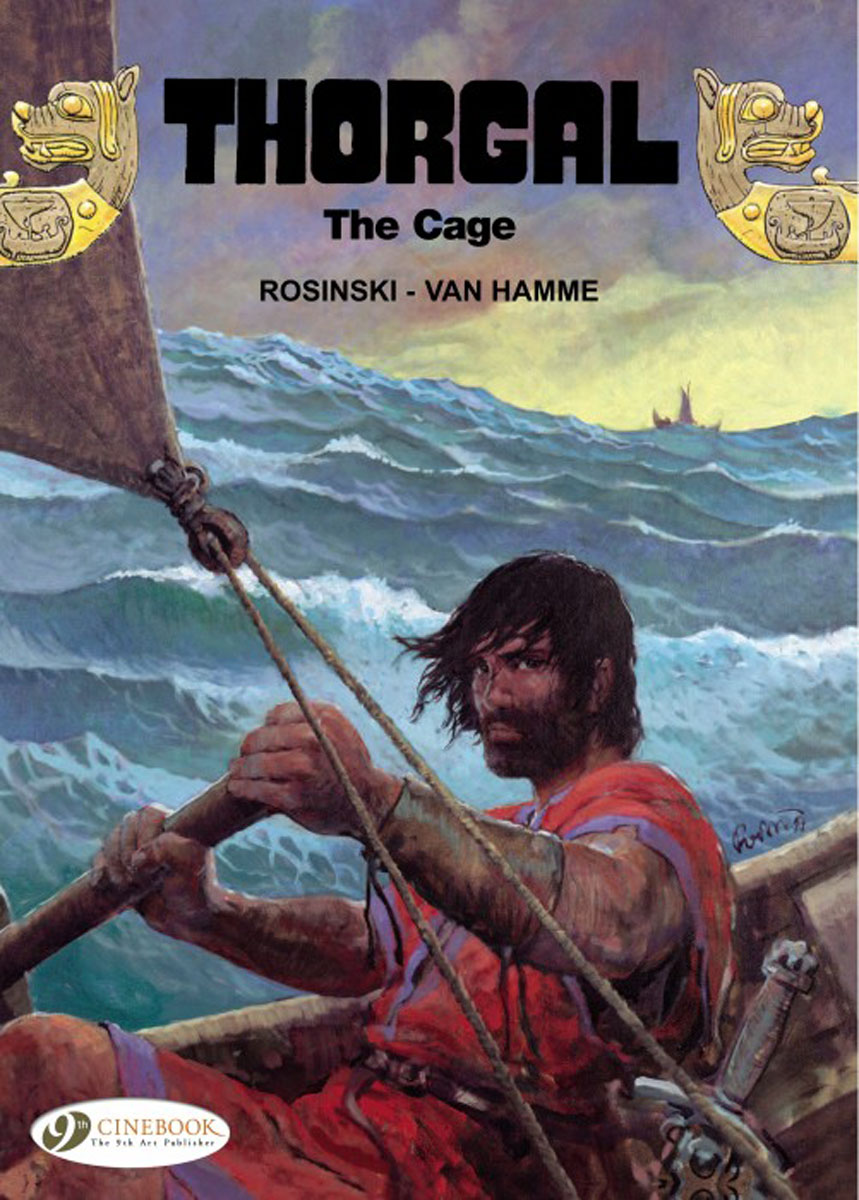 Thorgal Vol. 15: The Cage thorgal vol 17 the blue plague