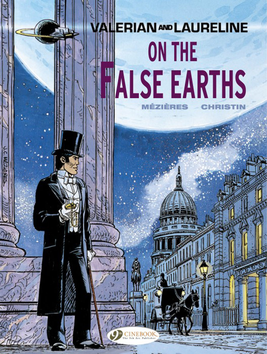 Valerian Vol.7: On the False Earths powers the definitive hardcover collection vol 7