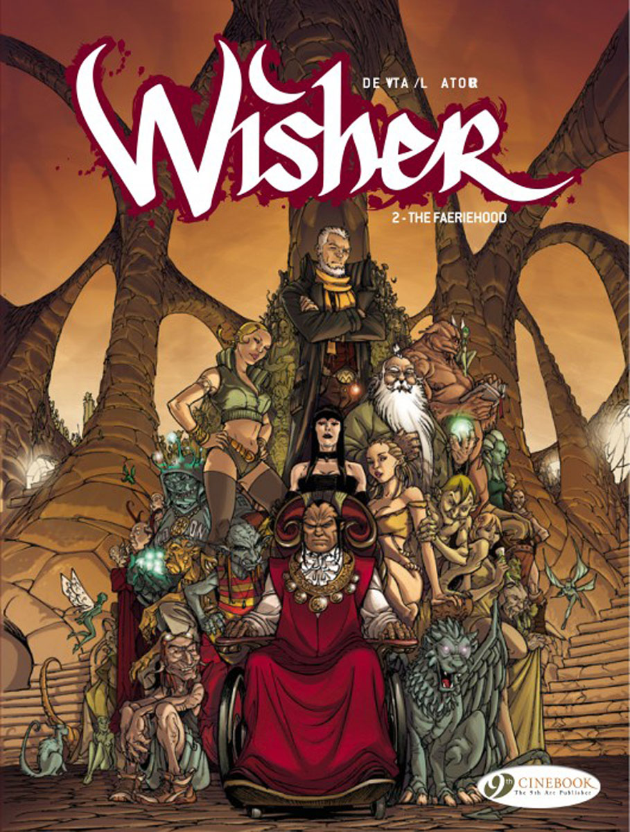 Wisher Vol. 2 last templar vol 3 the the sunken church