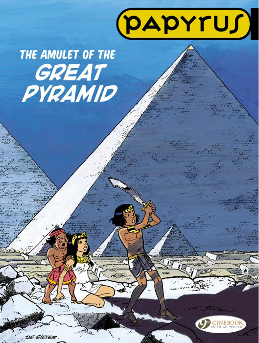 Papyrus Vol. 6: The Amulet of the Great Pyramid crusade vol 3 the master of machines