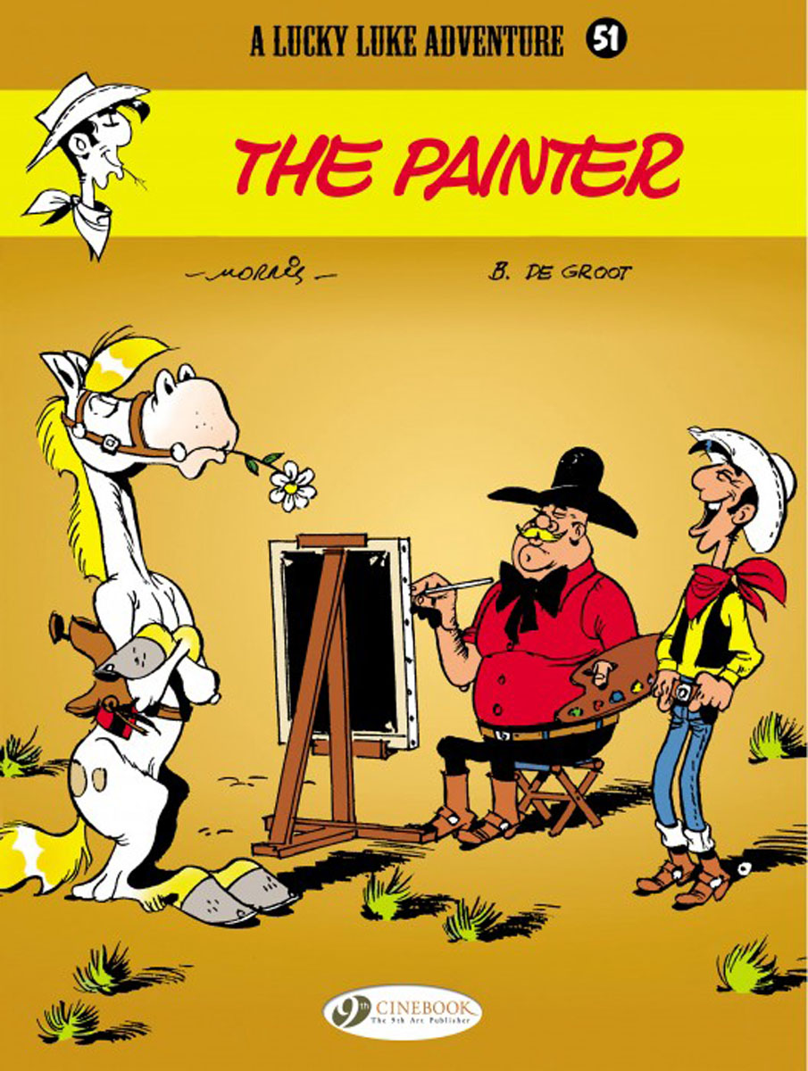 Lucky Luke Vol. 51: The Painter lucky luke vol 12 the rivals of painful gulch