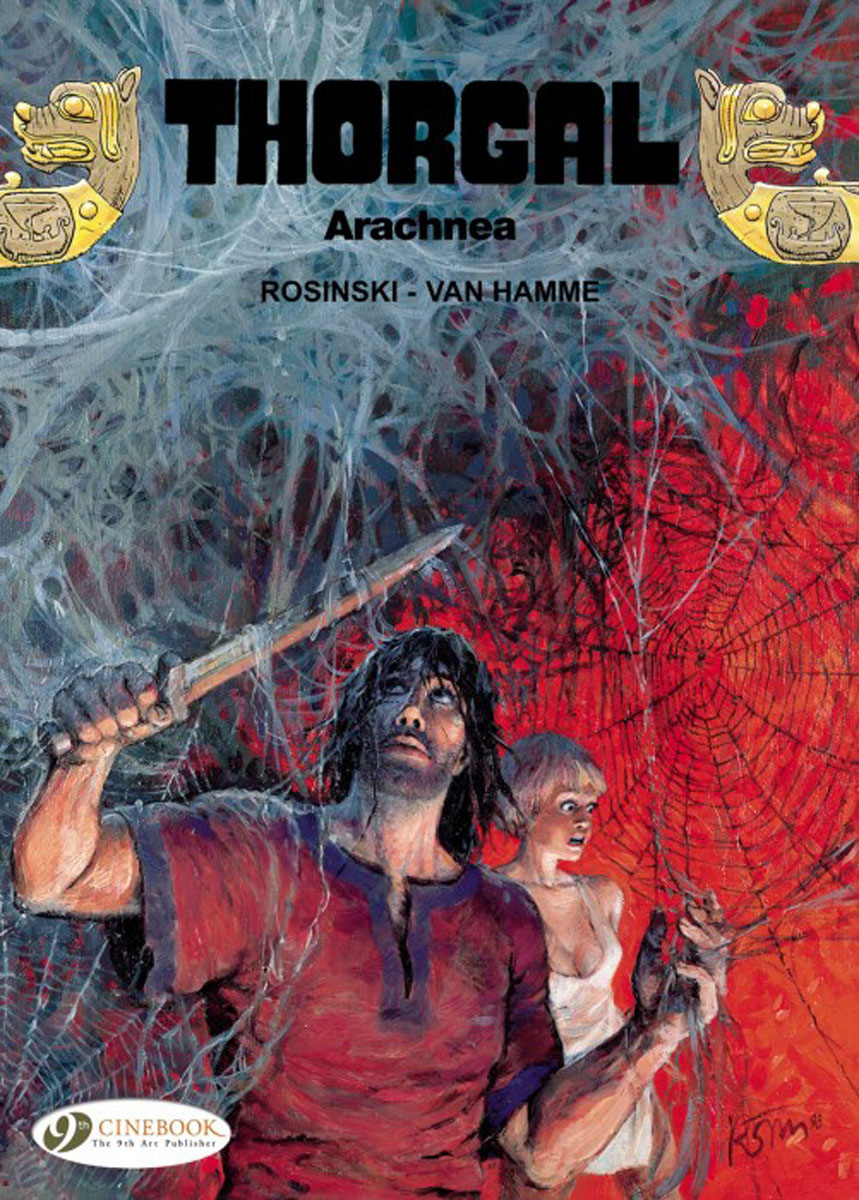 Thorgal Vol. 16: Arachnea thorgal vol 15 the cage