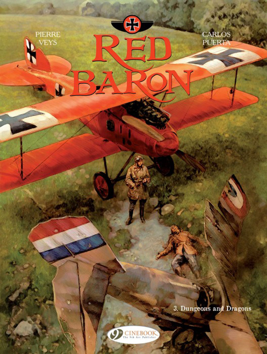 Red Baron Vol. 3: Dungeons and Dragons dungeons