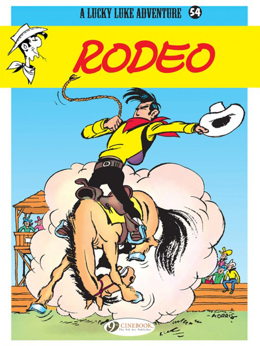 Lucky Luke Vol 54: Rodeo the lucky one