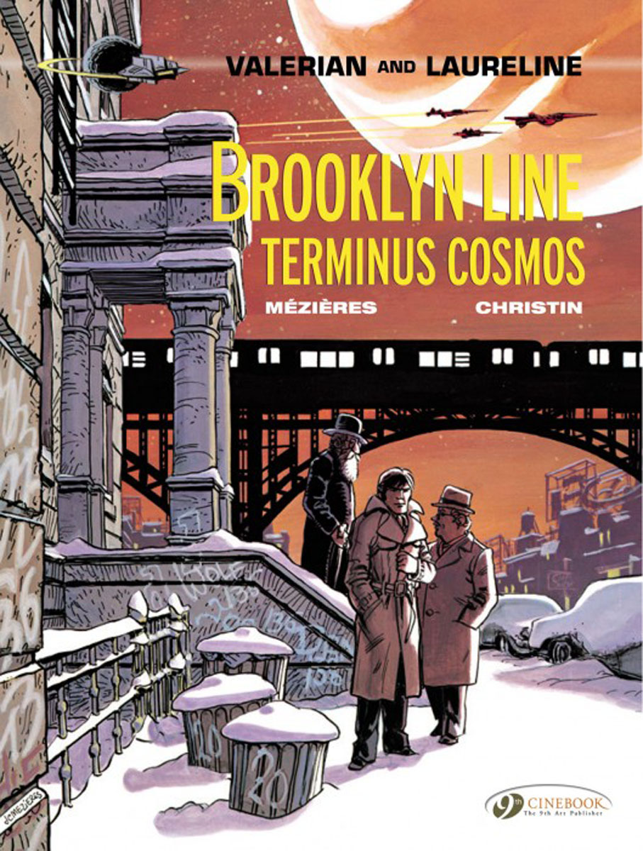 Valerian Vol. 10: Brooklyn Line, Terminus Cosmos found in brooklyn