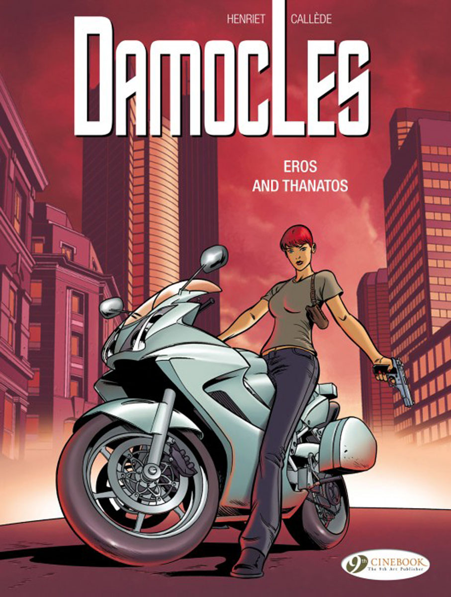 Damocles Vol. 4: Eros and Thanos powers the definitive hardcover collection vol 7