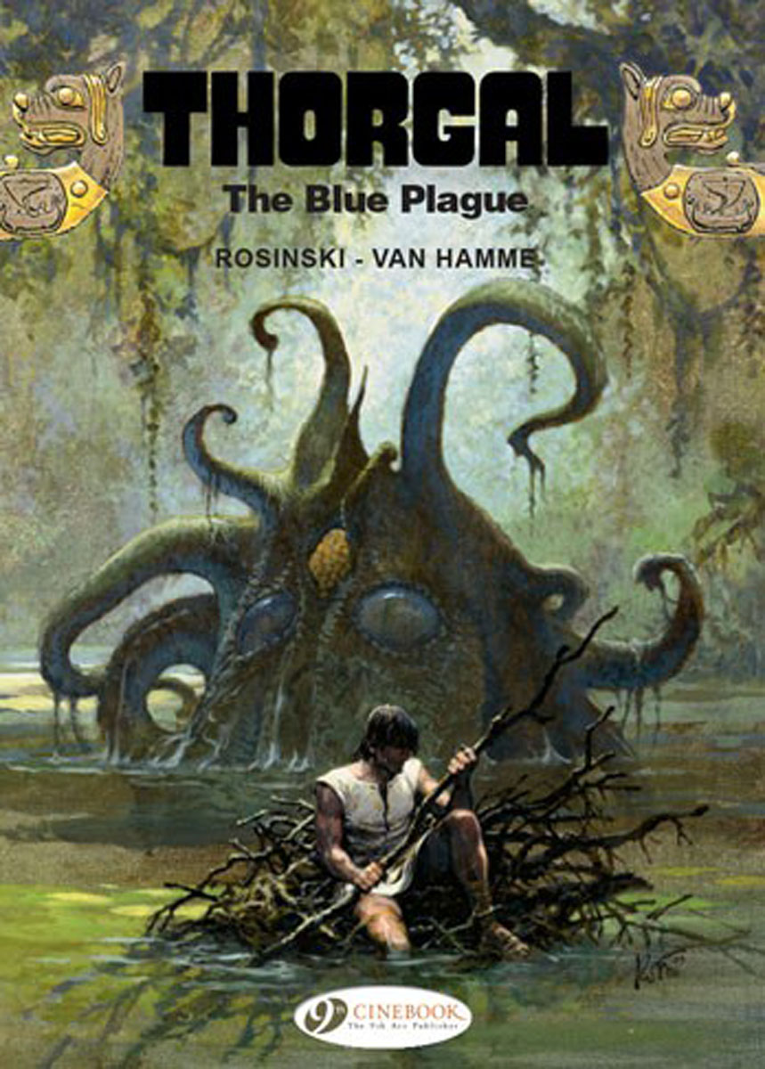 Thorgal Vol. 17: The Blue Plague thorgal vol 17 the blue plague