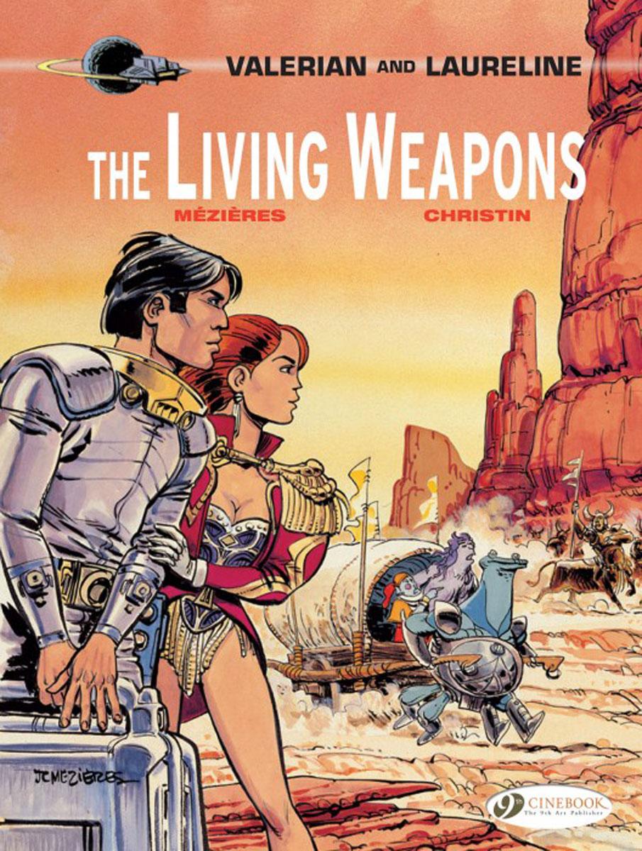 Valerian Vol. 14: The Living Weapons valerian vol 12 the wrath of hypsis