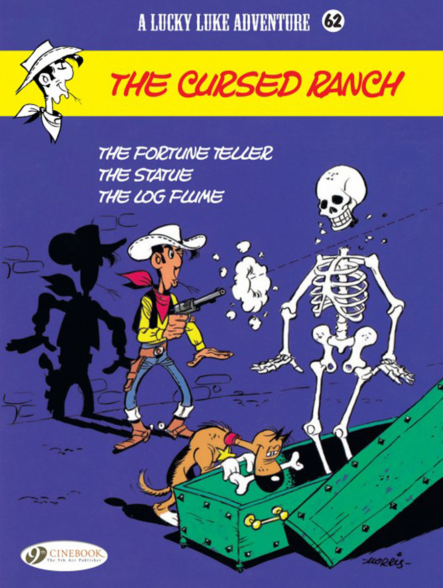 Lucky Luke Vol.62: The Cursed Ranch lucky luke vol 12 the rivals of painful gulch