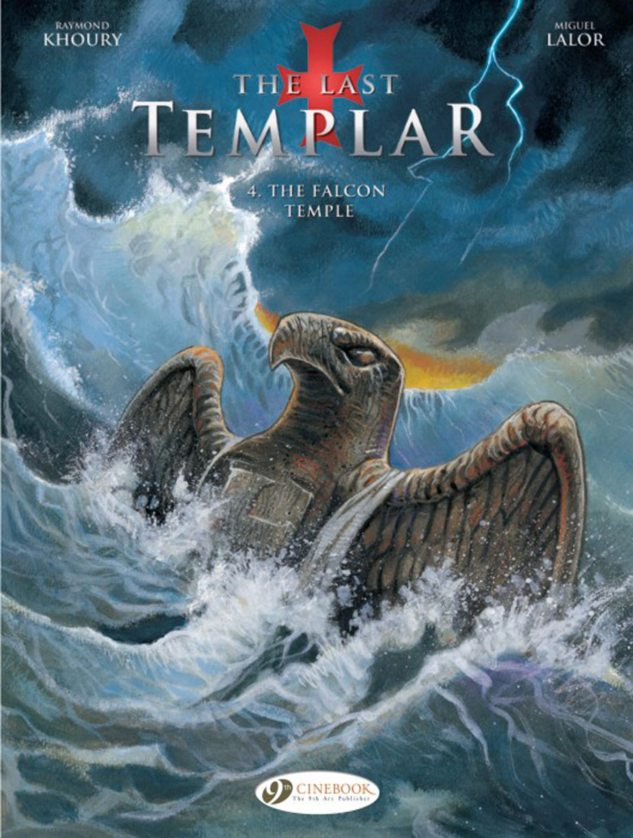 Last Templar Vol. 4, The: The Falcon Temple last templar vol 3 the the sunken church