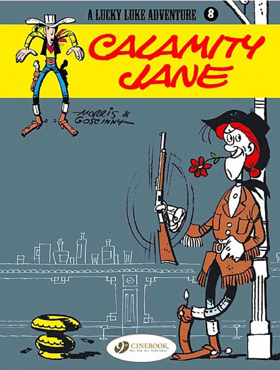 Lucky Luke Vol.8: Calamity Jane lucky stars 8 the sleepover wish
