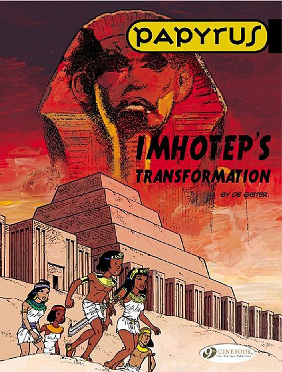 Papyrus Vol.2: Imhotep's Transformation papyrus vol 1 the revenge of the ramses