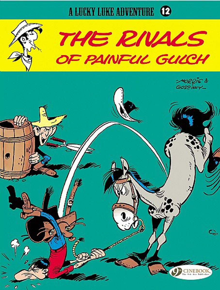 Lucky Luke Vol.12: The Rivals of Painful Gulch lucky john croco spoon big game mission 24гр 004