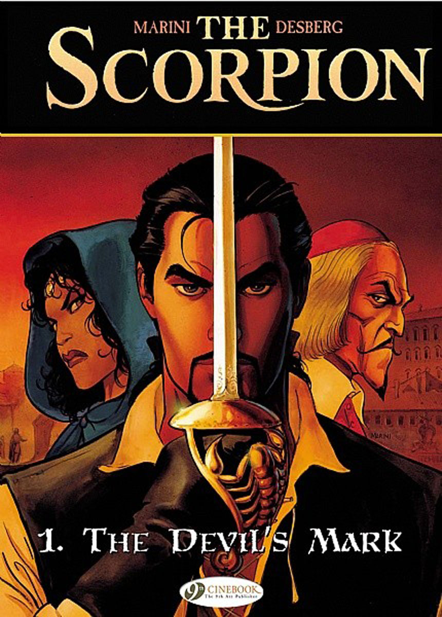 Scorpion, The Vol.1: The Devil's Mark the salmon who dared to leap higher