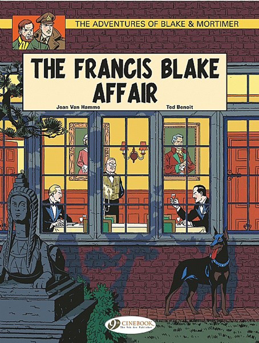 Blake & Mortimer Vol.4: The Francis Blake Affair affair of state an
