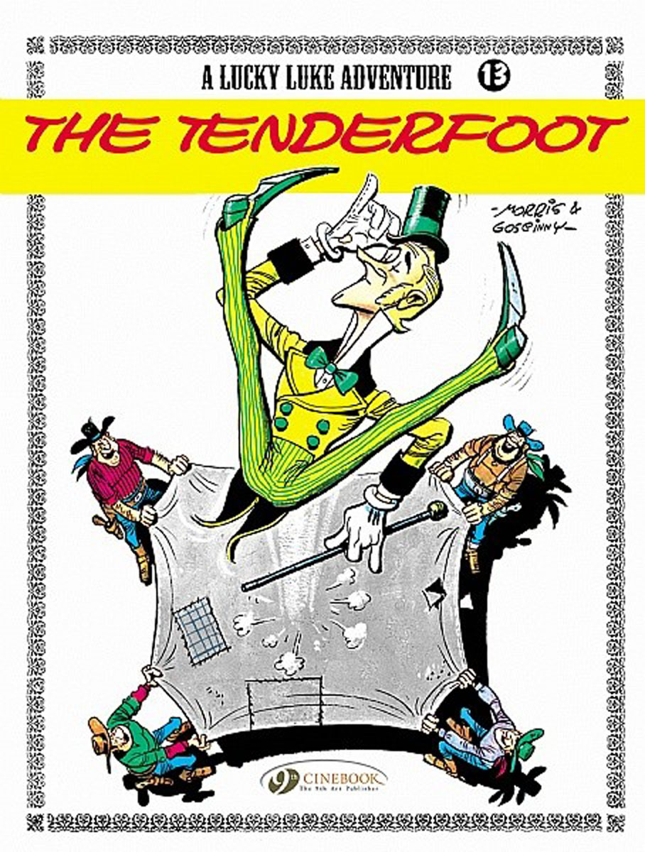 Lucky Luke Vol.13: The Tenderfoot lucky luke vol 12 the rivals of painful gulch