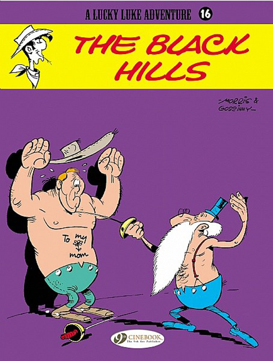 Lucky Luke Vol.16: The Black Hills the salmon who dared to leap higher