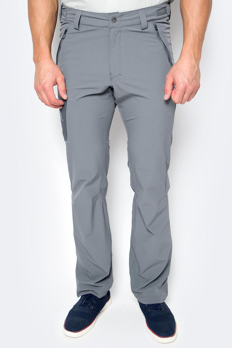 Брюки спортивные мужские Salomon Wayfarer Pant, цвет: серый. L39313400. Размер 52-34 брюки salomon брюки stormspotter pant m
