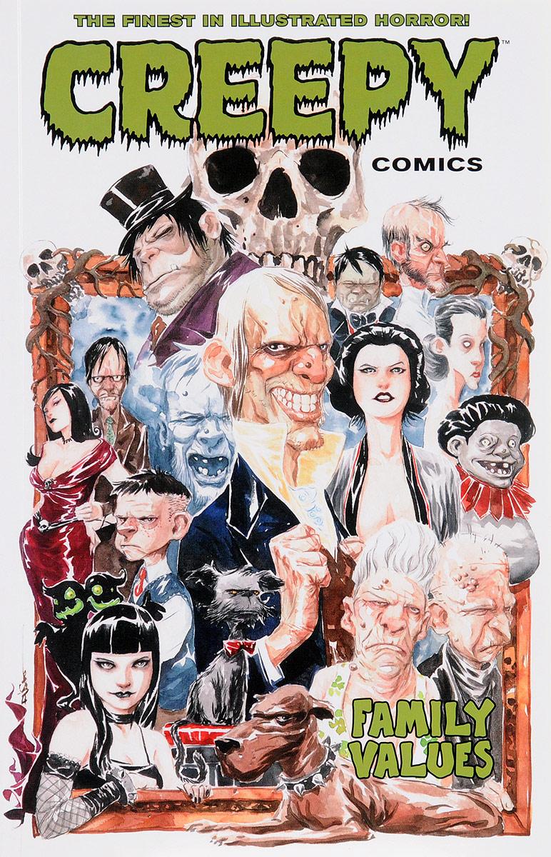 Creepy Comics: Volume 4: Family Values batman detective comics volume 9 gordon at war