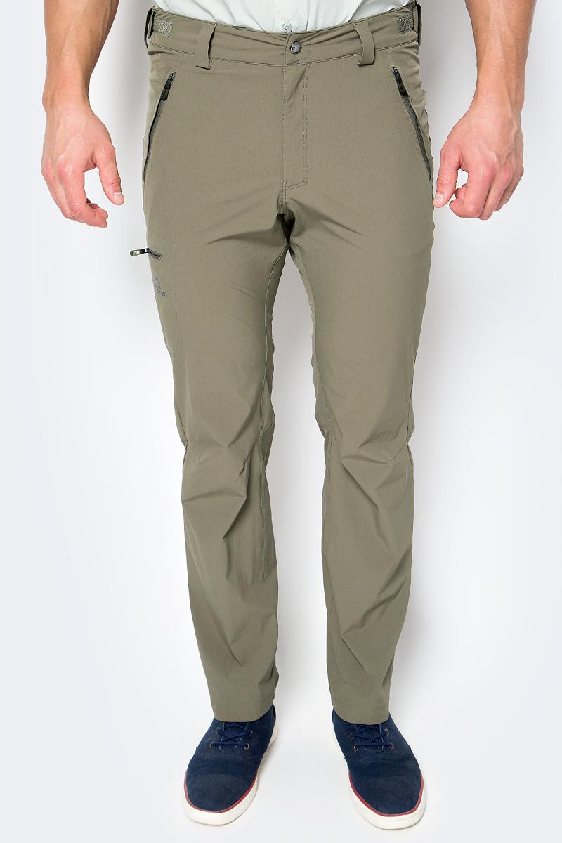 Брюки спортивные мужские Salomon Wayfarer Pant, цвет: коричневый. L39313200. Размер 48-34 брюки salomon брюки stormspotter pant m