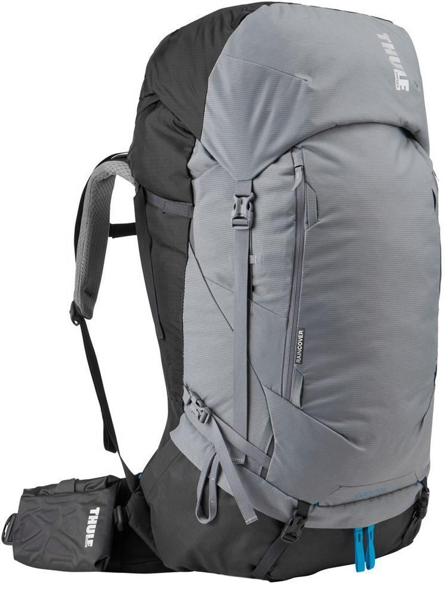 Рюкзак туристический женский Thule Guidepost, цвет: серый, 65 л222202Удобный женский рюкзак для длительных путешествий Thule Guidepost с объемом 65 л отличается настраиваемой системой крепления TransHub, обеспечивающей идеальную посадку, поворачивающимся набедренным ремнем, который позволяет рюкзаку повторять ваши движения, и крышкой, способной трансформироваться в дополнительный рюкзак, который поможет вам покорить любую вершину.Лямки с шагом 15 см легко регулируются для идеальной посадки рюкзака, а наплечные ремни QuickFit имеют три варианта длины.Система крепления Transhub и усиленный поясной ремень помогают максимально перенести вес рюкзака на бедра, обеспечивая более удобную посадку.За счет поворотного поясного ремня рюкзак повторяет ваши движения, обеспечивая более естественную ходьбу.Съемный верхний клапан трансформируется в отдельный просторный рюкзак объемом 28 л.Съемный всепогодный сворачивающийся карман VersaClick защищает снаряжение от непогоды.Регулируемый поясной ремень совместим со взаимозаменяемыми аксессуарами VersaClick (продаются отдельно).Яркий съемный дождевой чехол поможет сохранить вещи сухими во время проливного дождя.Разместив внешний аккумулятор в отделении PowerPocket, можно на ходу заряжать мобильное устройство в кармане поясного ремня.Удобный доступ к содержимому рюкзака благодаря большой J-образной застежке на молнии на боковой панели.Дышащая задняя панель способствует лучшей циркуляции воздуха, а мягкая опора обеспечивает поддержку в главных точках соприкосновения.