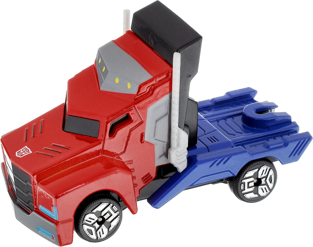 Dickie Toys Машинка Optimus Prime Tin Box robots in disguise 1 step changers