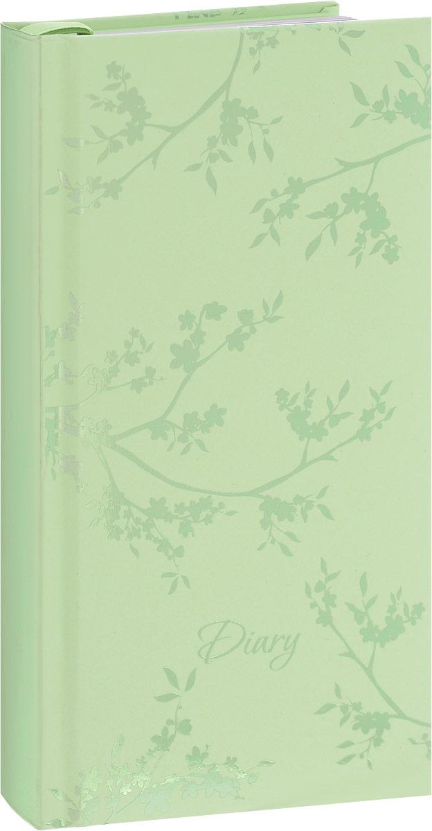 Феникс+ Ежедневник Веточки 120 листов44522Ежедневник Феникс+ Веточки - это один из удобных способов систематизации всех предстоящих событий и незаменимый помощник для каждого. Обложка выполнена из твердого переплета, картон с поролоном, зеленого цвета с рисунком из фольги в виде веточек дерева. Обложка имеет металлически-зеленый срез. Ежедневник имеет ляссе.Внутренний блок включает 120 листов офсетной бумаги без линовки пяти разных цветов: желтый, розовый, голубой, фиолетовый, зеленый. Все планы и записи всегда будут у вас перед глазами, что позволит легко ориентироваться вграфике дел, событий и встреч.