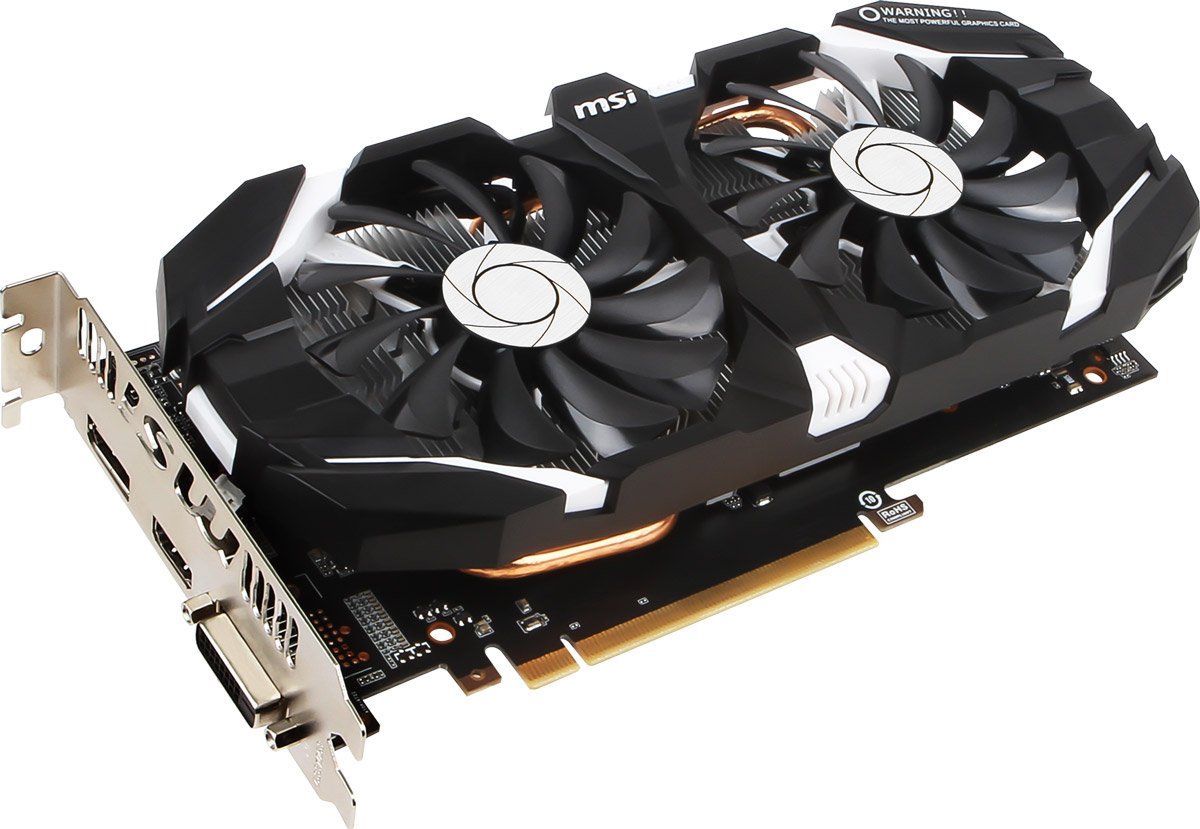 MSI GeForce GTX 1060 3GT 3GB видеокарта