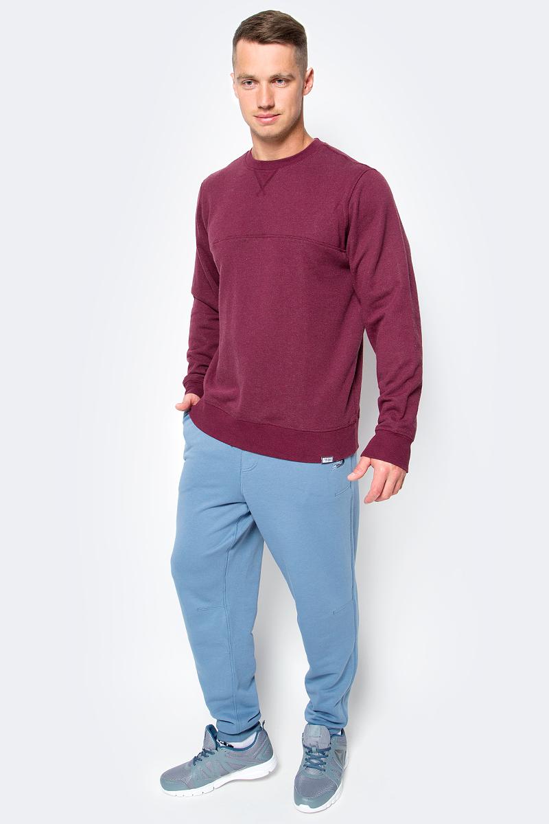 Толстовка мужская New Balance Classic Crew Neck, цвет: бордовый. MT63552/ADR. Размер XL (50/52)