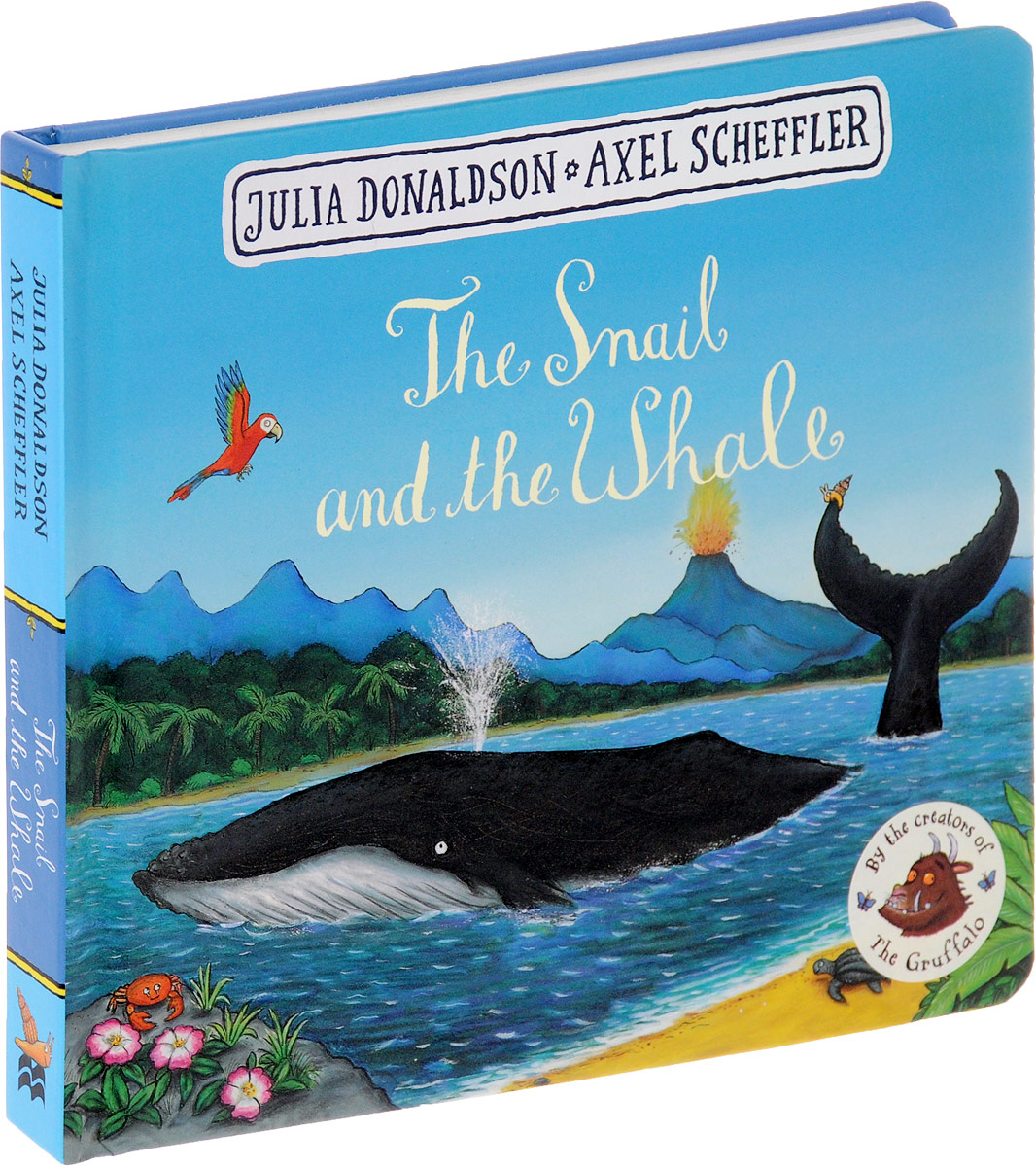The Snail and the Whale room on the broom big book