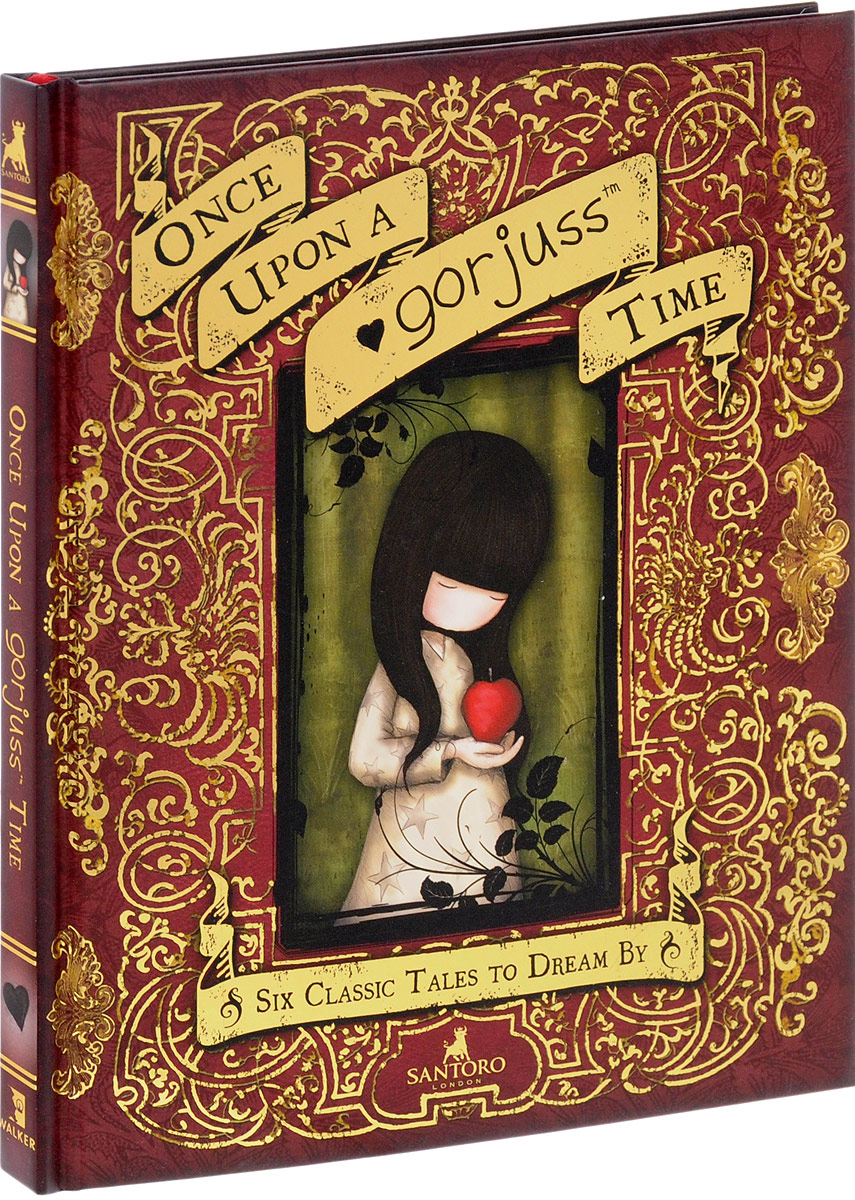 Once Upon a Gorjuss Time: Six Classic Tales to Dream By лонгслив printio once upon a time in america однажды в америке
