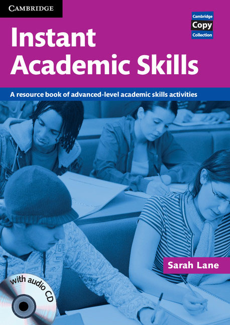 Instant Academic Skills with Audio CD hewings martin thaine craig cambridge academic english advanced students book
