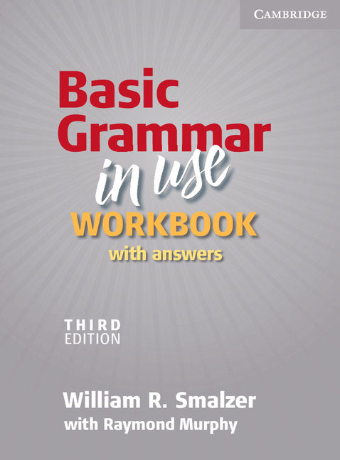 Basic Grammar in Use Workbook with Answers english grammar in use supplementary exercises with answers
