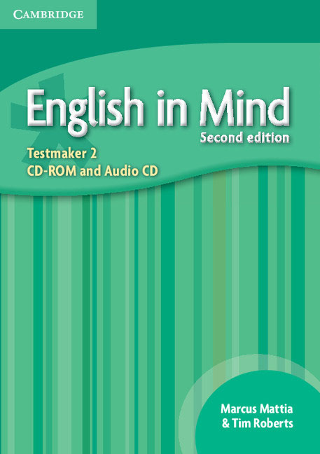 English in Mind Level 2 Testmaker CD-ROM and Audio CD networking in english cd rom