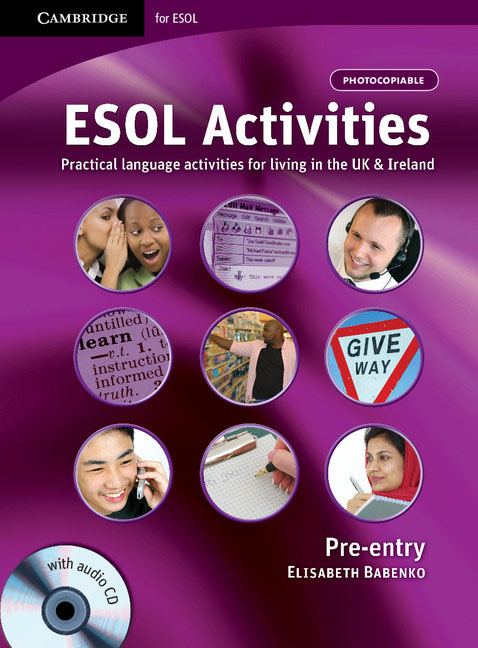 ESOL Activities Pre-entry with Audio CD touchstone teacher s edition 4 with audio cd