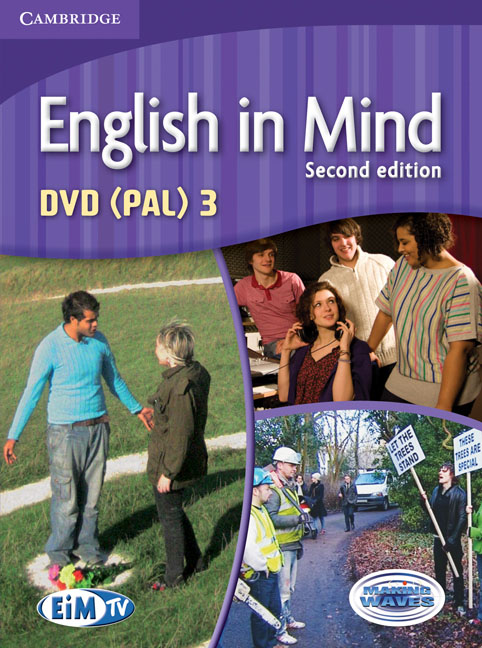 English in Mind Level 3 DVD (PAL) a scandal in bohemia level 3