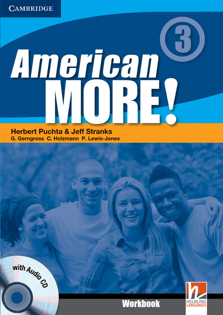 American More! Level 3 Workbook with Audio CD team up 1 sb reader with audio cd